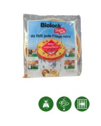 Biolock® Fliegenfalle maxi 1 Falle + 2 Köder/Set