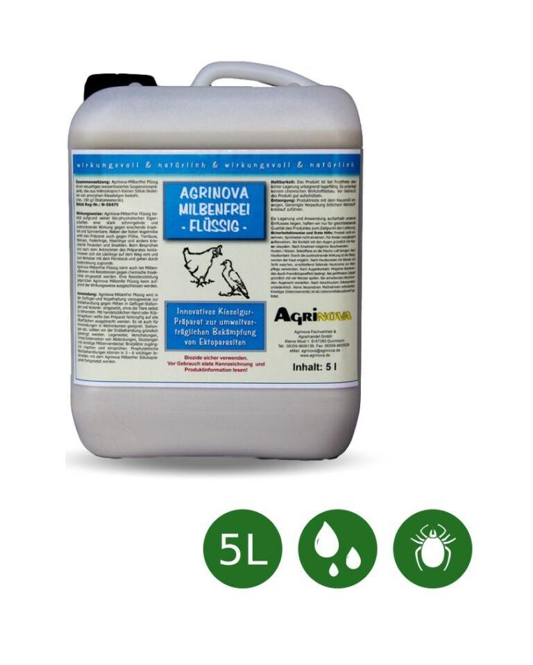 Agrinova Milbenfrei Flüssig Konzentrat - 5 Liter