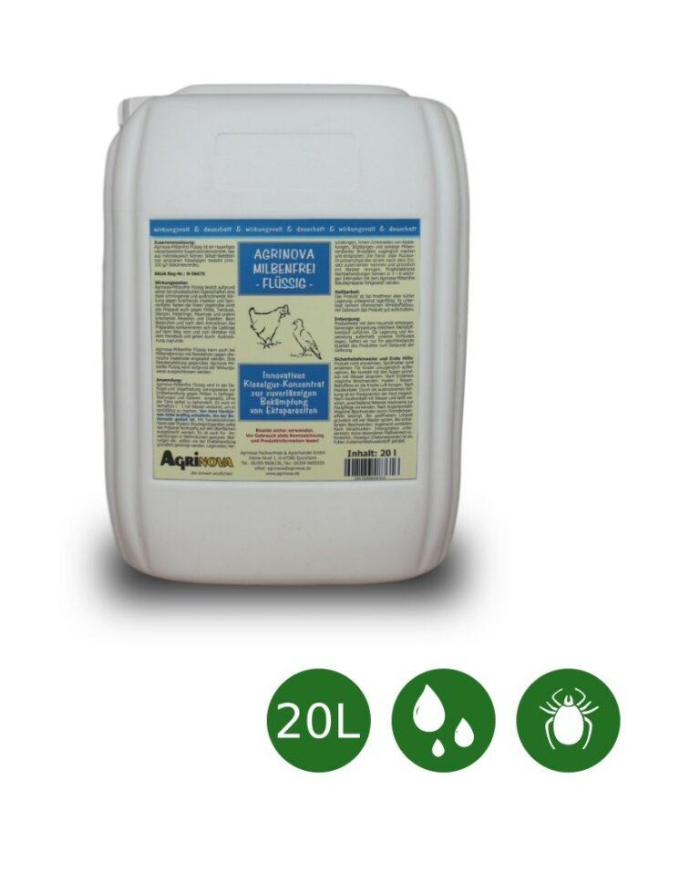 Agrinova Milbenfrei Flüssig Konzentrat - 20 Liter