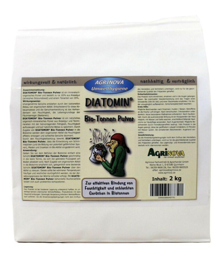 DIATOMIN® Bio-Tonnen Pulver - 2 kg