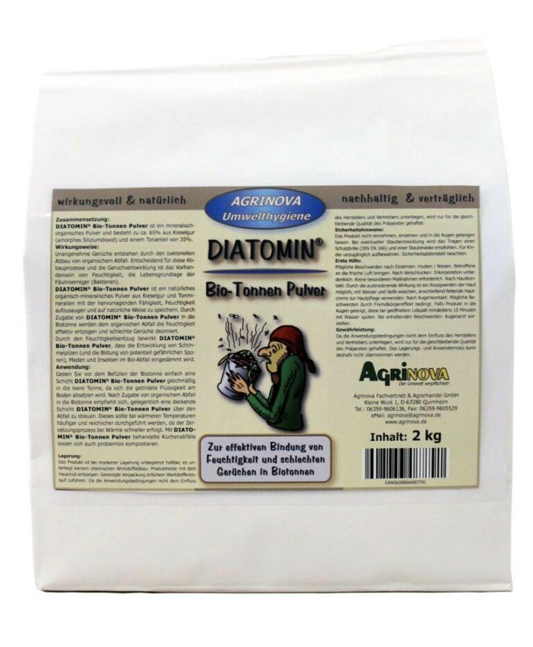 DIATOMIN® Bio-Tonnen Pulver - 5 kg
