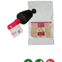 Agrinova MILBENFREI 2 kg & Handstäubegerät BOBBY