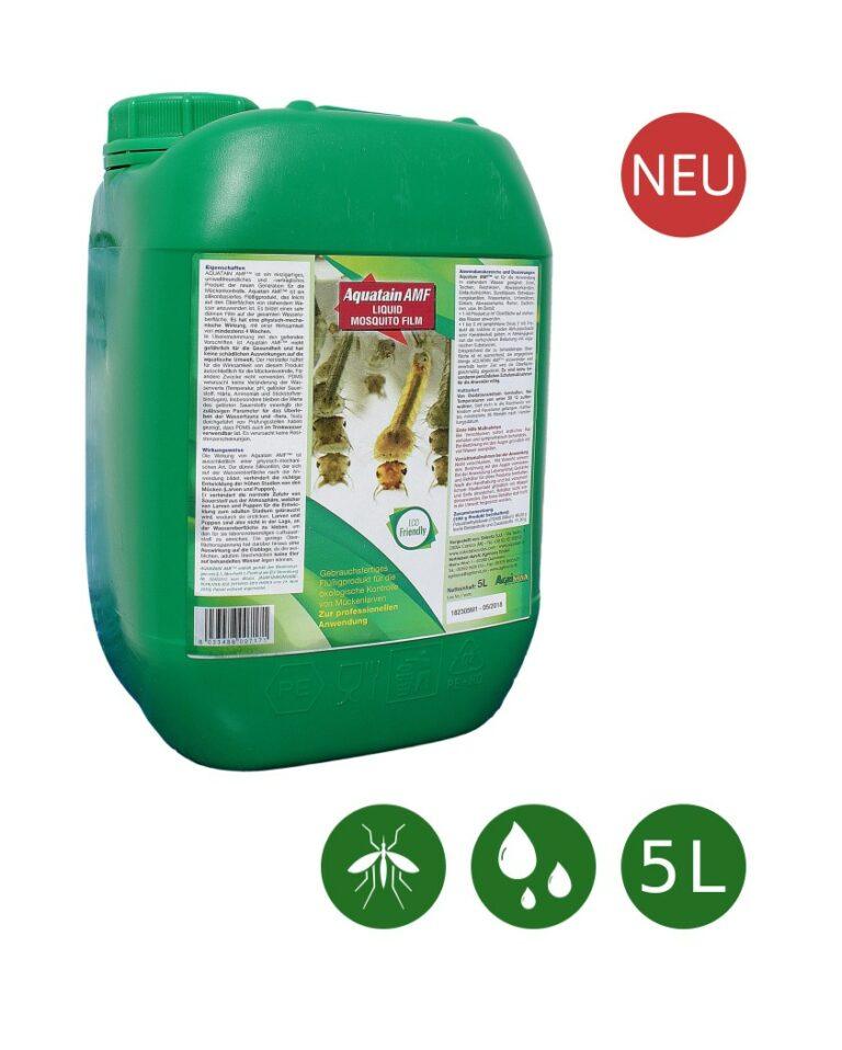 Aquatain AMF™ Innovation gegen Stechmücken - 5L