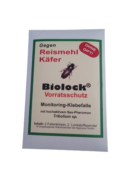 Biolock® Reismehlkäferfalle (Tribolium sp.) 2 FALLEN + 2 LOCKSTOFFE /SET