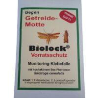 Biolock® Getreidemottenfalle (sitotroga cerealella) 2 FALLEN + 2 LOCKSTOFFE /SET