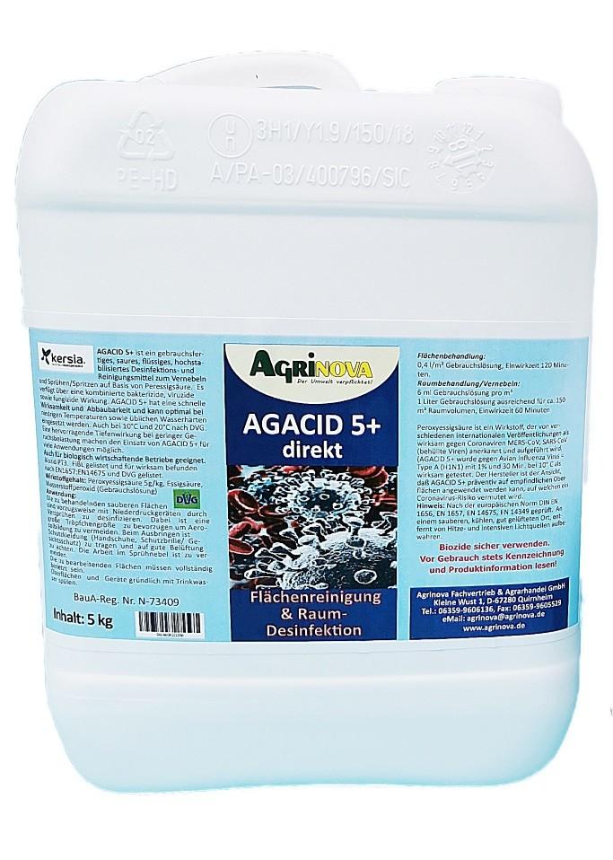 AGACID 5+ direkt - 5kg gebrauchsfertig