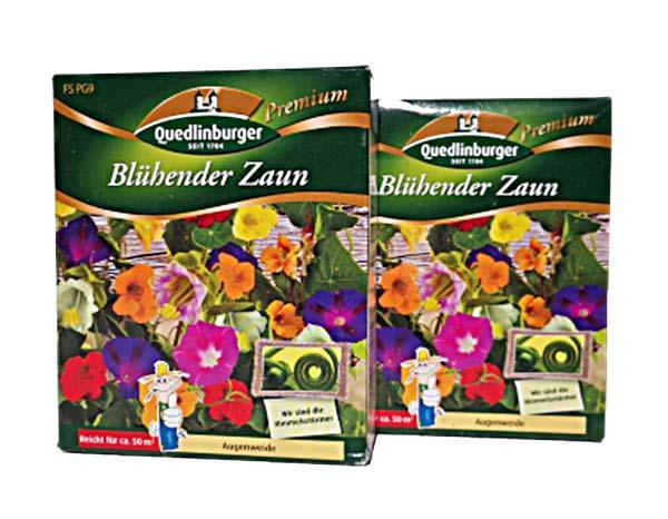 Blühender Zaun Blumensamen für je 2x50m²