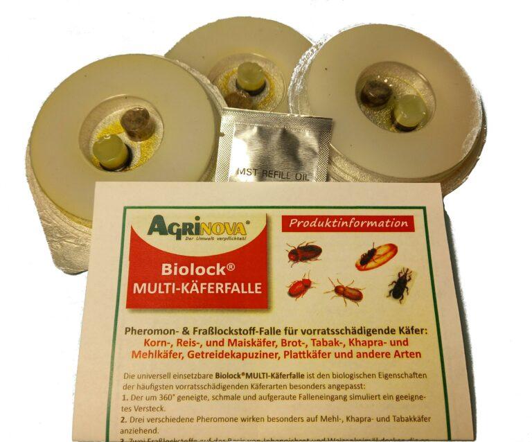 Nachfüllset für Biolock®Multi-Käferfalle (Artikel-Nr. 101320) 3 Stück / Set