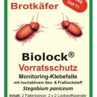 Biolock Brotkäfer-Klebefalle