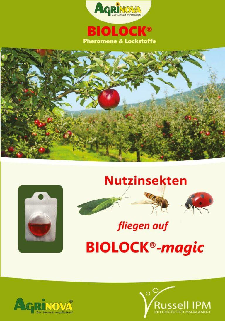 Nutzinsekten im Obst-, Gemüse- und Gartenbau
