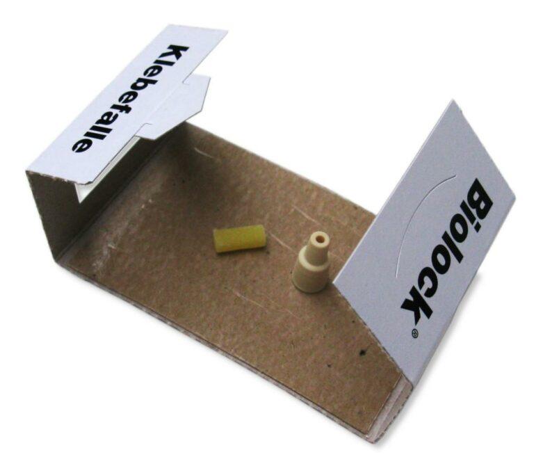 BIOLOCK Klebefalle - Platzierung der Dispenser