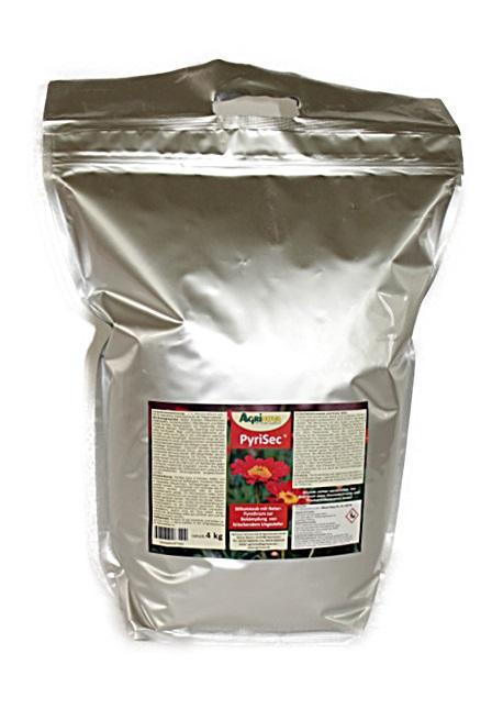 PyriSec® Bio-Insektizid auf Basis von Kieselgur und Naturpyrethrum - 4 kg