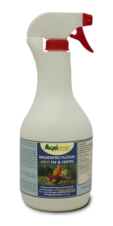 Agrinova Milbenfrei Flüssig Akut Fix & Fertig