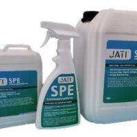 Jati Schimmelpilz-Entferner Sprühflasche und Kanister